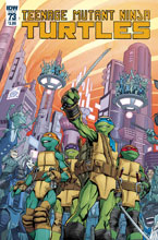 Image: Teenage Mutant Ninja Turtles #73 (cover A - Smith) - IDW Publishing