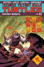 Image: Teenage Mutant Ninja Turtles Vol. 17: Desperate Measures SC  - IDW Publishing