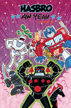 Image: Aw Yeah! Hasbro Action Figure Jam HC  - IDW Publishing