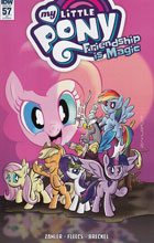 Image: My Little Pony: Friendship Is Magic #57 (incentive cover - Thom Zahler) (10-copy) - IDW Publishing
