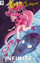Image: Jem and the Holograms: Infinite #3 (incentive cover - Yoshi Yoshitani) (10-copy) - IDW Publishing