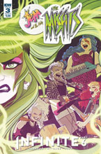 Image: Jem and the Holograms: The Misfits: Infinite #3 (cover A - St. Onge) - IDW Publishing