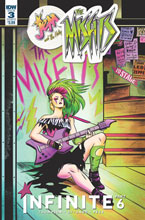 Image: Jem and the Holograms: The Misfits: Infinite #3 (cover B - Fish) - IDW Publishing