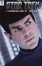Image: Star Trek: Boldly Go #11 (Photo incentive cover - 01131) (10-copy) - IDW Publishing