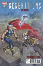 Image: Generations: The Unworthy Thor & The Mighty Thor #1 (variant cover - Pastoras)  [2017] - Marvel Comics