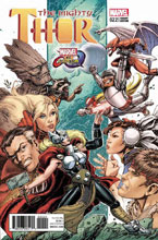 Image: Mighty Thor #22 (variant cover - Marvel vs. Capcom) - Marvel Comics