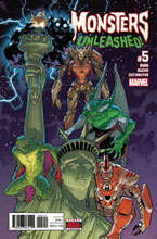 Image: Monsters Unleashed #5 - Marvel Comics