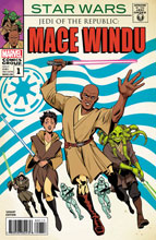 Image: Star Wars: Jedi of the Republic - Mace Windu #1 (variant cover - Artist Homage) - Marvel Comics