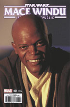 Image: Star Wars: Jedi of the Republic - Mace Windu #1 (variant cover - Movie) - Marvel Comics