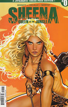 Image: Sheena Queen of the Jungle #0 (Sook Sneak Peek incentive cover - 00041) (50-copy) - Dynamite
