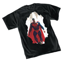 Image: Superman T-Shirt: Breakthrough by Ross  (M) - Graphitti Designs