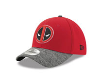 Image: Marvel 3930 Flex Fit Cap: Deadpool Team Shaded  - New Era Cap Co
