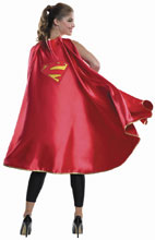 Image: DC Heroes Costume Long Cape: Supergirl  - Rubies Costumes Company Inc