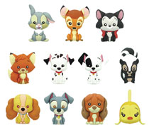 Image: Disney Series 11 Laser Cut Figural Keyring 24-Piece Blind Mystery Box Display  - Monogram Products