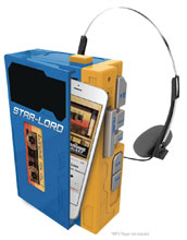 Image: Guardians of the Galaxy 2 Mini-MP3 Boombox  - Kiddesigns Inc.