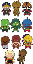 Image: Guardians of the Galaxy Cut Figural Keyring 24-Piece Blind Mystery Box Display  - Monogram Products