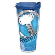 Image: Tervis Marvel Tumbler: Mighty Thor  (24-ounce) (w/Lid) - Tervis Tumbler Co.