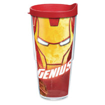 Image: Tervis Marvel Tumbler: Iron Man  (24-ounce) (w/Lid) - Tervis Tumbler Co.