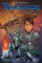 Image: Trollhunters: Tales of Arcadia - The Felled SC  - Dark Horse Comics
