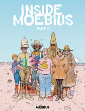 Image: Inside Moebius Vol. 03 HC  - Dark Horse Comics