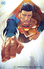 Image: Action Comics #1002 (variant cover - Manapul) - DC Comics