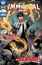 Image: Immortal Men #5 - DC Comics