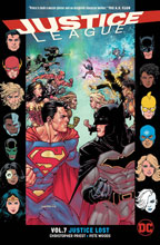 Image: Justice League Vol. 07: Justice Lost SC  - DC Comics