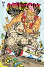 Image: Teenage Mutant Ninja Turtles: Bebop & Rocksteady Hit the Road #2 (incentive cover - Farinas)  [2018] - IDW Publishing