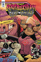Image: Teenage Mutant Ninja Turtles: Bebop Rocksteady - Hit the Road #5 (cover A - Pitarra) - IDW Publishing