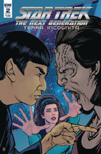 Image: Star Trek: The Next Generation: Terra Incognita #2 (cover A - Shasteen) - IDW Publishing