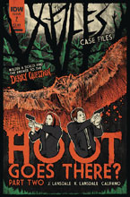Image: X-Files Case Files: Hoot Goes There #2 (cover B - Lendl) - IDW Publishing