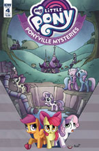 Image: My Little Pony: Ponyville Mysteries #4 (cover A - Garbowska) - IDW Publishing