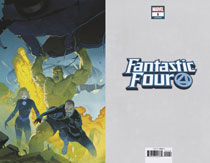 Image: Fantastic Four #1 (variant virgin cover - Ribic) - Marvel Comics