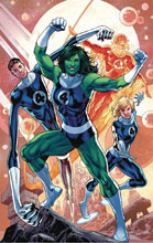 Image: Thor #4 (variant Return of the Fantastic Four cover - Hitch) - Marvel Comics