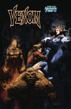 Image: Venom #5 (variant Return of Fantastic Four cover - Zaffino) - Marvel Comics
