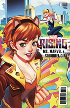 Image: Marvel Rising: Ms. Marvel / Squirrel Girl #1 (variant connecting cover - Rian Gonzales) - Marvel Comics