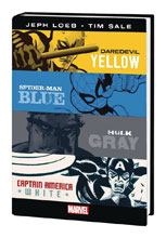 Image: Yellow, Blue, Gray & White HC  - Marvel Comics