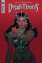 Image: Dejah Thoris Vol. 02 #7 (cover B - Roux) - Dynamite