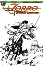 Image: Zorro Legendary Adventures #1 (variant Blazing Blades of Zorro cover -) - American Mythology Productions