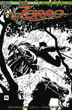 Image: Zorro: Swords of Hell #2 (variant Visions of Zorro cover - Toth) - American Mythology Productions