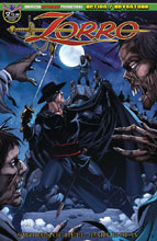 Image: Zorro: Swords of Hell #2 (variant The Dead Rise cover - Bonk) - American Mythology Productions