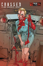 Image: Crossed Plus 100 Mimic #5 (variant cover - Crossing Over Corrupt) - Avatar Press Inc