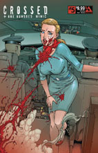 Image: Crossed Plus 100 Mimic #5 (variant cover - Crossing Over Bloody) - Avatar Press Inc
