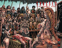 Image: Crossed Plus 100 Mimic #5 (variant cover - History X wraparound) - Avatar Press Inc