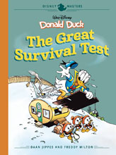 Image: Disney Masters: Donald Duck - The Great Survival Test HC  - Fantagraphics Books