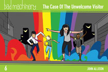 Image: Bad Machinery Pocket Edition Vol. 06: Case Unwelcome Visitor GN  - Oni Press Inc.
