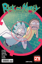 Image: Rick and Morty #41 (cover A - Marc Ellerby, Sarah Stern) - Oni Press Inc.