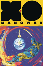 Image: X-O Manowar [2017] #18 (cover C incentive - Interlocking Fish) (20-copy) - Valiant Entertainment LLC