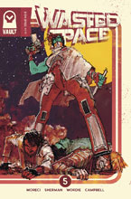 Image: Wasted Space #5 (cover B - Sherman) - Vault Comics