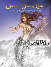 Image: Grimm Fairy Tales: Adult Coloring Book - The Little Mermaid SC  - Zenescope Entertainment Inc